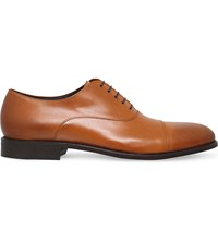 Hugo Boss Bb Stockholm Leather Oxford Shoes Tan