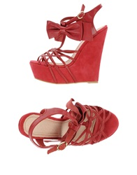 Supertrash Sandals Brick Red