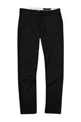 French Connection Men's Machine Gun Stretch Kr Slim Black