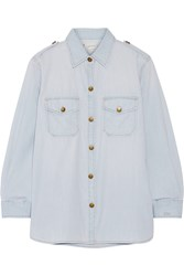 Current Elliott The Perfect Chambray Shirt