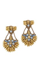 Deepa Gurnani Oda Earrings Gold