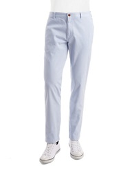 Brooks Brothers Red Fleece Flat Front Chino Pants Bright Blue
