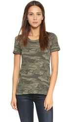 Monrow Camo Mini Tee Hunter