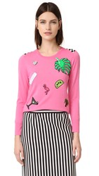 Marc Jacobs Scoop Crew Neck Sweater Pink