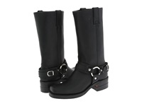 Frye Belted Harness 12R Black Leather Women's Boots
