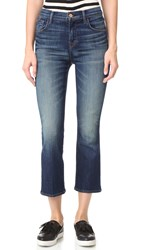J Brand Helena High Rise Crop Boot Jeans Undertow