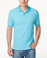 Club Room Men's Big And Tall Feeder Stripe Polo Only At Macy's Sweetwater