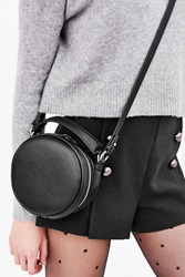 Cooperative Round Crossbody Bag Black