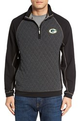 Tommy Bahama Men's 'Nfl Gridiron' Quarter Zip Pullover Packers