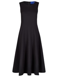 Winser London Full Circle Skirt Dress Black