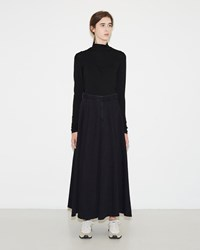 Maison Martin Margiela Long Denim Skirt Indigo