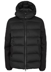 Moncler O Black Quilted Cotton Shell Jacket