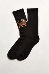 Urban Outfitters Tiger Sport Sock Black