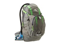 High Sierra Wahoo 14L Hydration Pack Charcoal Kelly Backpack Bags Multi