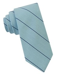 William Rast Marlon Striped Tie Aqua