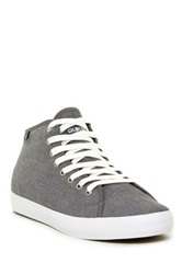 Quiksilver Cove Mid Top Canvas Sneaker Gray