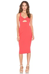 Nookie Donna Bodycon Dress Coral