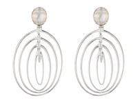 Stephen Webster Jewels Verne Bonafide Earrings White Agate Mother Of Pearl Quartz Earring
