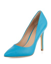 Charles By Charles David Pact Leather Pointed Toe Pump Azure