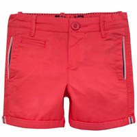 Chateau De Sable French Designer Summer Shorts Red
