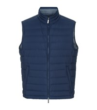 Boss Lightweight Down Gilet Male Navy