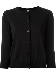 Antonio Marras Three Quarter Sleeve Cardigan Black