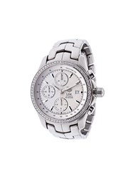 Tag Heuer 'Link' Analog Watch Metallic