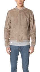 Native Youth Brushed Soft Touch Bomber Sand
