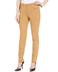 Styleandco. Style Co. Curvy Fit Colored Wash Skinny Jeans Only At Macy's Light Mango