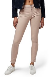 Topshop Women's 'Leigh' Ankle Skinny Jeans Stone