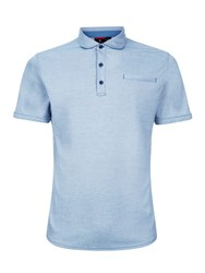 Victorinox Stone Interlock Polo Sea
