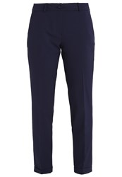 More And More Hedy Trousers Marine Dark Blue