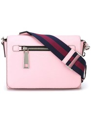 Marc Jacobs Small 'Gotham' Shoulder Bag Pink Purple