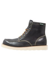 Eastland Lumber Up Laceup Boots Navy Dark Blue