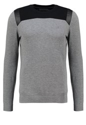 Calvin Klein Jeans Jumper Grey Mottled Grey