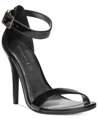 Madden Girl Madden Girl Dafney Two Piece Dress Sandals Women's Shoes Black Patent