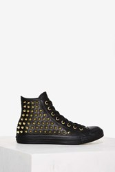 Converse All Star Studded Leather Sneaker