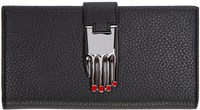 Opening Ceremony Black Leather Continental Misha Wallet