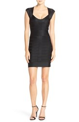 Women's French Connection 'Miami Spotlight' Cap Sleeve Bandage Dress