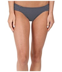 Carve Designs Cardiff Bottom Anchor Chevron Women's Swimwear Gray