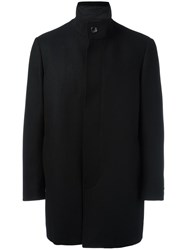 Michael Kors Funnel Neck Coat Black