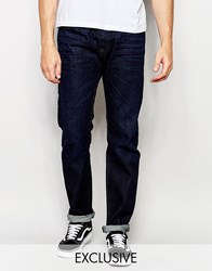 Diesel Jeans Buster 823K Regular Slim Fit Dark Wash Dark Wash Blue