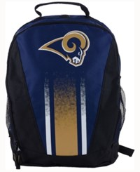 Forever Collectibles Los Angeles Rams Prime Time Backpack Navy