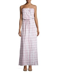 Soft Joie Cahya Tie Dye Strapless Maxi Dress Pale Lilac