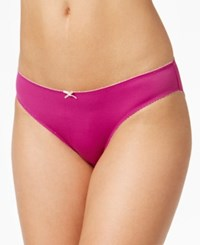 Heidi Klum By Smooth Microfiber Bikini H30 1185B Only At Macy's Wild Aster Silver Peony