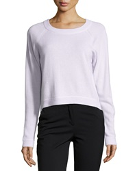 Christopher Fischer Cashmere Raglan High Low Sweater Tea Dust