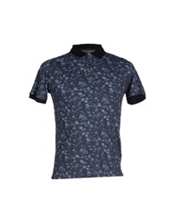 Alpha Massimo Rebecchi Topwear Polo Shirts Men Dark Blue