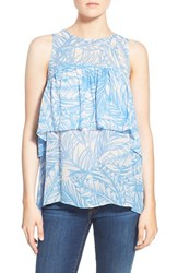 Women's Plenty By Tracy Reese Flouncy Tiered Print Tank