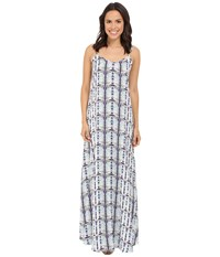 Tart Florence Maxi Dress Geometric Python Women's Dress Gray