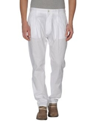 Les Hommes Dress Pants White